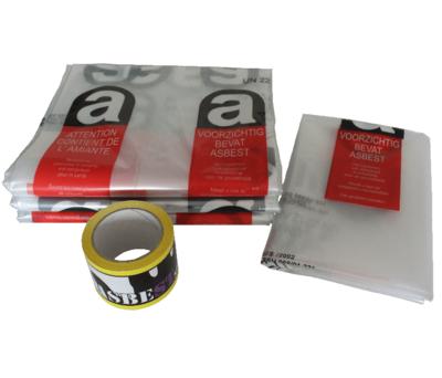 12m² Asbest opruimingsset