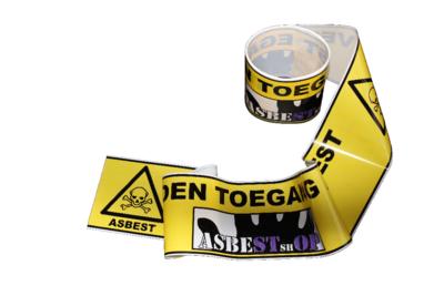 Asbest afzetlint 8cm x 6m