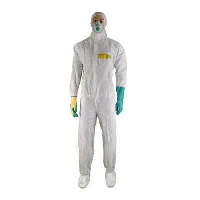 Asbest beschermingsset goud