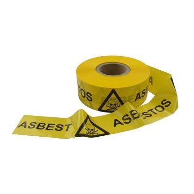 Asbest afzetlint 7,5cm x 500m