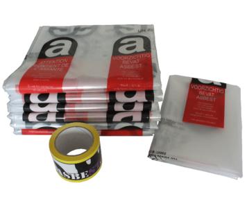 24m² Asbest opruimingsset